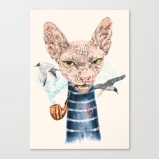 Sphynx Cat II Canvas Print