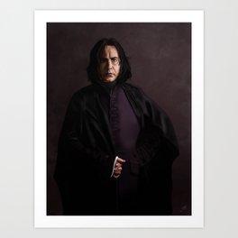 Snape Art Print