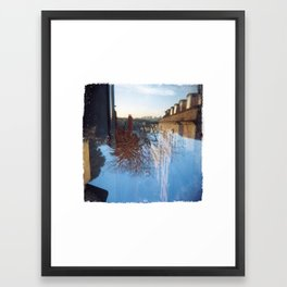 Upside Down #1 Framed Art Print