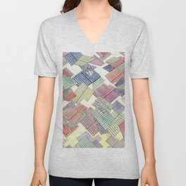 Roof in the wind 2 Unisex V-Neck