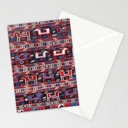 Azeri Azerbaijan South Caucasus Horse Cover Print Stationery Cards