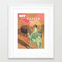 wanderlust Framed Art Prints featuring Wanderlust by Isabel Arenas