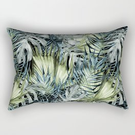 Tropical Leaves I Rectangular Pillow