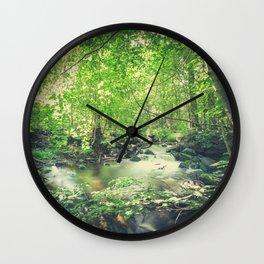 Peekaboo 4 Wall Clock