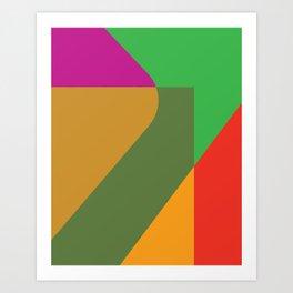 Cacho Shapes XC Art Print