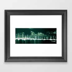 Sail Away With Me Framed Art Print