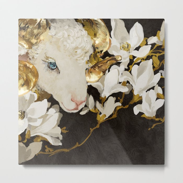 sheep Metal Print