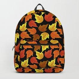Fall Leaves Autumn Season Thanksgiving Halloween Backpack