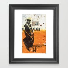 14 pesos Framed Art Print