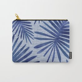 Mid Century Meets Mediterranean - Tropical Print Carry-All Pouch