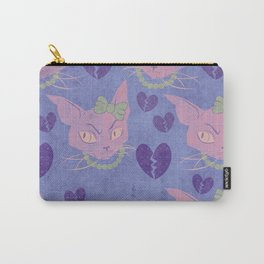 Pretty Kitten Carry-All Pouch