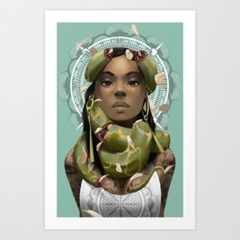 Unbound Art Print