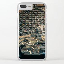 """""""Ler Devagar"""" - Óbidos, Portugal Clear iPhone Case"""