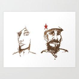 Revolutionaries Art Print