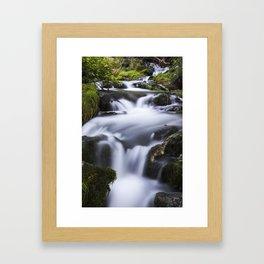 Serenity Springs Framed Art Print