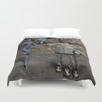 sci fi Duvet Covers featuring Sci-Fi Fantasy  by gypsykissphotography