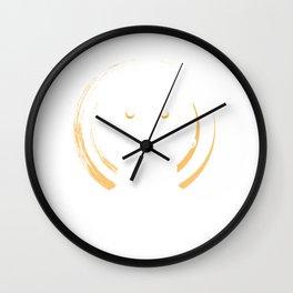 Holy sugar skull Wall Clock