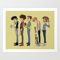 cargline Art Prints featuring Another 1D poster by cargline