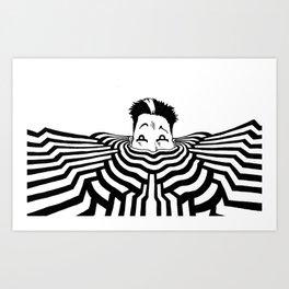 Ripplescape #3 Art Print