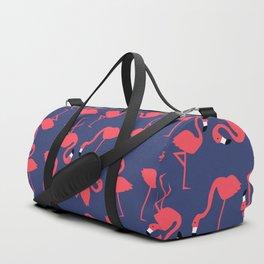 fluorescent flamingos Duffle Bag