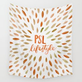 Pumpkin Spice Lifestyle Wall Tapestry