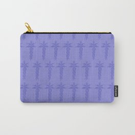 Medical ID Print (Blue) Carry-All Pouch