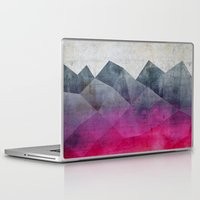concrete Laptop & iPad Skins featuring Pink Concrete by cafelab