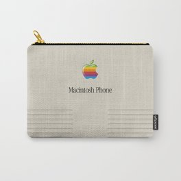 Macintosh phone Carry-All Pouch