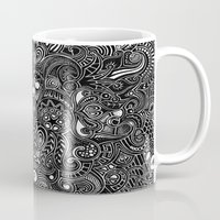 trip Mugs featuring Trip by Hugo F G