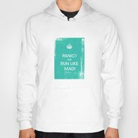 panic at the disco Hoodies featuring PANIC by Vin Zzep
