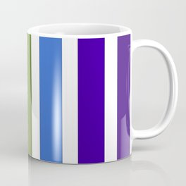 Stripes o' The Rainbow Coffee Mug