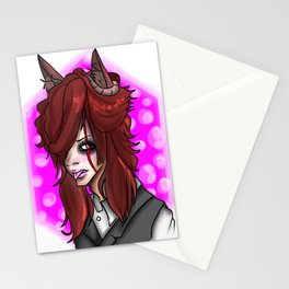 Wolf Demon Stationery Cards