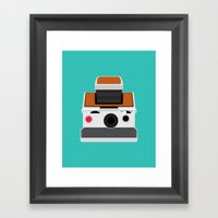 Polaroid SX-70 Land Camera Framed Art Print