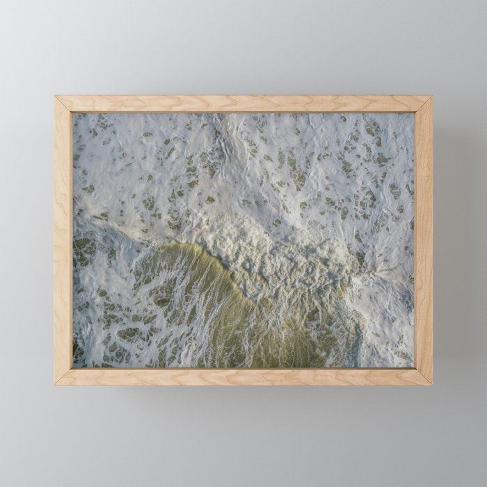 Rough Seas Framed Mini Art Print