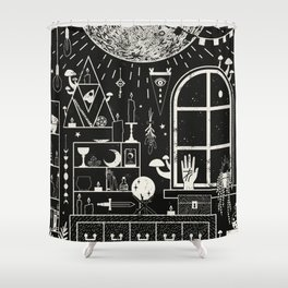 Moon Altar Shower Curtain