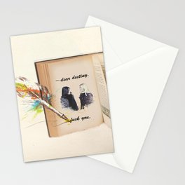 swan queen: dear destiny Stationery Cards