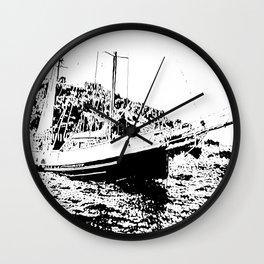 Vintage Sailboat Wall Clock
