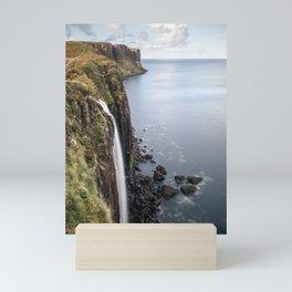 Big Waterfall in Scotland Isle of Skye Mini Art Print