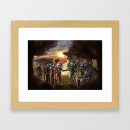 A New Alliance Framed Art Print