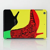 shoes iPad Cases featuring Shoes by BUBUBABA