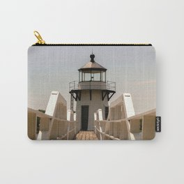 White Lighthouse I Carry-All Pouch