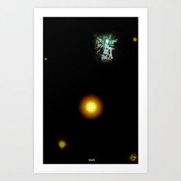 TAN Art Print