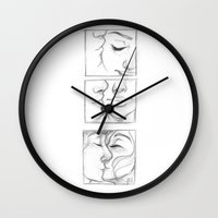 laia Wall Clocks featuring Besos by Laia™