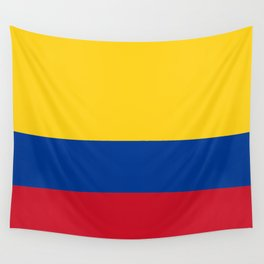 Flag of Colombia-Colombian,Bogota,Medellin,Marquez,america,south america,tropical,latine america Wall Tapestry