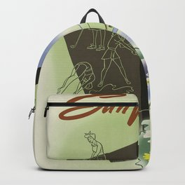 Vintage poster - Sun Valley, Idaho Backpack