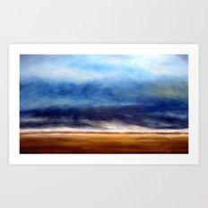 Storm On the Plains Art Print