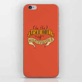 Leslie Knope iPhone Skin