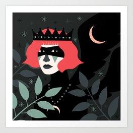 Black-Winged Night Kunstdrucke
