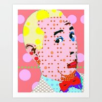 pee wee Art Prints featuring Pee Wee by Ricky Sencion