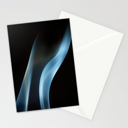 Incense Smoke Stationery Cards